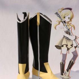 Puella Magi Madoka Magica Cosplay Tomoe Mami Cosplay Boots