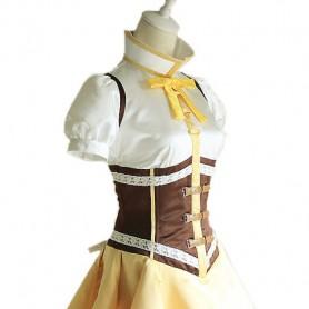 Puella Magi Madoka Magica Cosplay Tomoe Mami Cosplay Costume