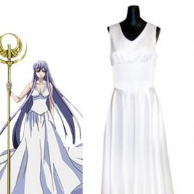 Saint Seiya Cosplay Saori Kido/Athena Cosplay Costume