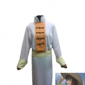 Saint Seiya Libra Dohko White Cosplay Costume