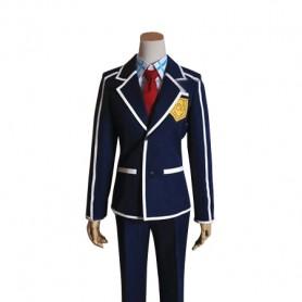 Sword Art Online ALO Kirito School Uniform Cosplay Costume