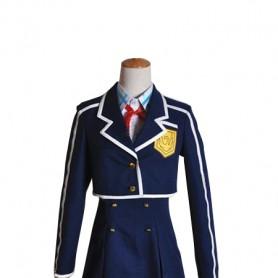 Sword Art Online ALO Yuuki Asuna Uniform School Cosplay Costume