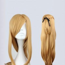 Sword Art Online Cosplay Asuna Yuuki Cosplay Wig