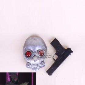 Sword Art Online Phantom Bullet Death Gun Cosplay Gun and Mask
