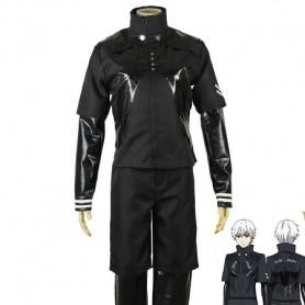 Tokyo Ghoul Cosplay Ken Kaneki Black Battle Cosplay Costume