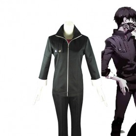 Tokyo Ghoul Ken Kaneki Black Battle Cosplay Costume