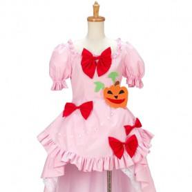 Umineko no Naku Koro ni Lambdadelta Pink Cosplay Costume