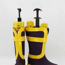 Fairy Tail Natsu Dragneel Purple & Yellow Cosplay Boots