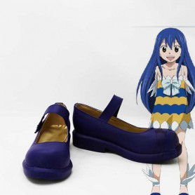 Fairy Tail Wendy Marvell Cosplay Shoes
