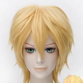 Free! Cosplay Hazuki Nagisa Gold Cosplay Wig