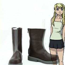 Fullmetal Alchemist Cosplay Winry Rockbell Cosplay Boots