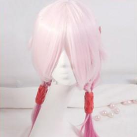 Guilty Crown Cosplay Inori Yuzuriha Pink Cosplay Wig