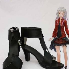 Guilty Crown Inori Yuzuriha Cosplay Boots