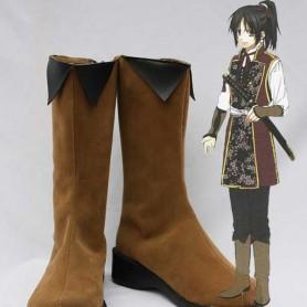 Hakuouki Cosplay Chizuru Yukimura Cosplay Boots