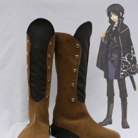 Hakuouki Cosplay Kaoru Nagumo Cosplay Leather Boots