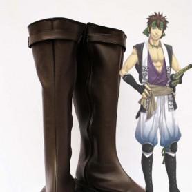 Hakuouki Nagakura Shinpachi Cosplay Show Boots