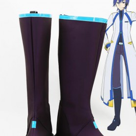 Vocaloid 3 Kaito Purple Cosplay Boots