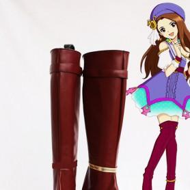 Idolm@ster Iori Minase Female Hight Heel Cosplay Boots