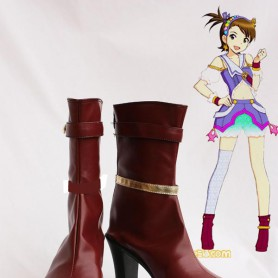 Idolm@ster: Xenoglossia Ami Futami Female Hight Heel Cosplay Boots