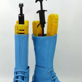 JOJO Caesar Anthonio Zeppeli Blue Cosplay Boots