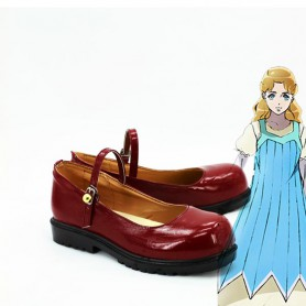 JOJO Erina Joestar Red Cosplay Shoes