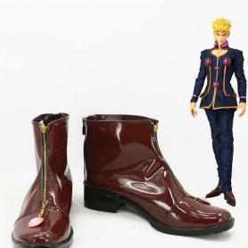 JOJO Vento Aureo Giorno Giovanna Cosplay Boots