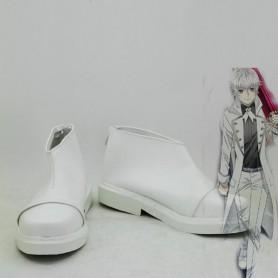 K RETURN OF KINGS Yashiro Isana White Cosplay Shoes