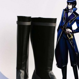 K Project Cosplay Munakata Reisi Cosplay Show Boots