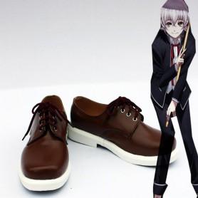 K Project Cosplay Yashiro Isana Brown Cosplay Shoes