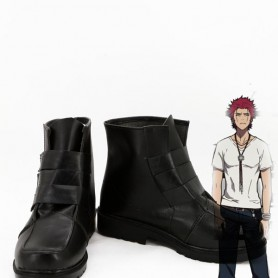 K Project Mikoto Suoh Black Cosplay Boots