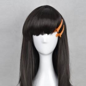 Kagerou Project Ayano/Ayano Tateyama Black Cosplay Wig