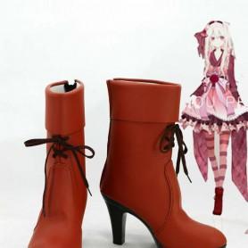 Kagerou Project Marry Kozakura Hight Heel Cosplay Boots