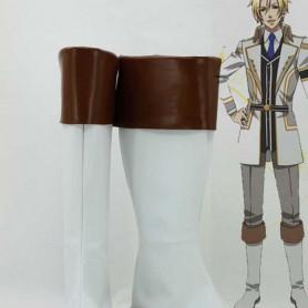 Kamigami no Asobi Apollon Agana Belea White Cosplay Boots