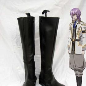 Kamigami no Asobi Tsukito Totsuka Black Cosplay Boots