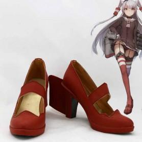 Kantai Collection Cosplay Amatsukaze Cosplay Shoes