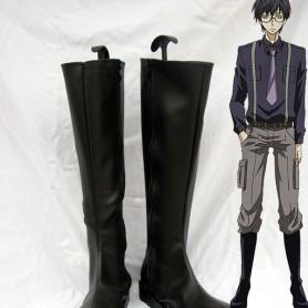 Karneval Jiki Black Long Cosplay Boots