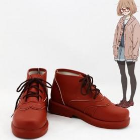 Kyoukai no Kanata Cosplay Mirai Kuriyama Cosplay Shoes