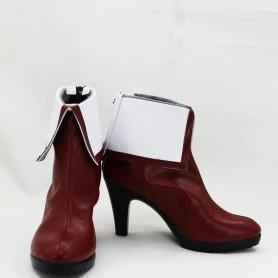Kyoukai no Kanata Mirai Kuriyama Female Hight Heel Cosplay Boots