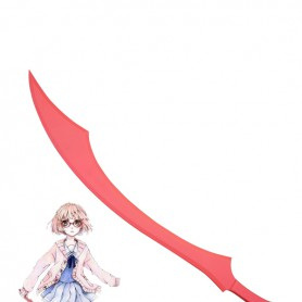 Kyoukai no Kanata Mirai Kuriyama Wood Cosplay Weapon/Blood Sword