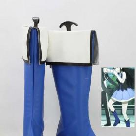 Kyoukai no Kanata Mitsuki Nase Blue & White Cosplay Boots
