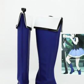 Kyoukai no Kanata Mitsuki Nase Blue Cosplay Boots