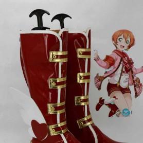 LOVE LIVE! Awakening of Valentine Hoshizora Rin Cosplay Boots
