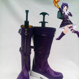 League of Legends Cosplay Annie Purple Cosplay Boots
