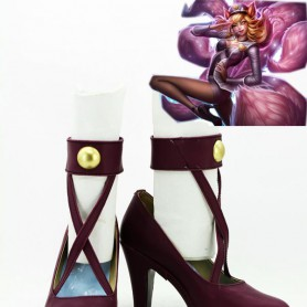 League of Legends Cosplay Popstar Ahri Cosplay Shoes