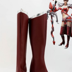 League of Legends Cosplay The Night Hunter Vayne Shauna Cosplay Boots