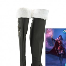 League of Legends LeBlanc Cosplay Boots