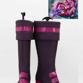 League of Legends Miss Fortune Female Hight Heel Cosplay Boots