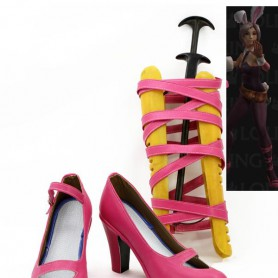 League of Legends Riven Cosplay Shoes