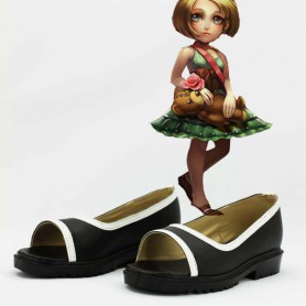 League of Legends the Dark Child Annie Black Cosplay Shoes