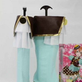 Love Live ! Fruitfresh Hoshizora Rin Cosplay Boots